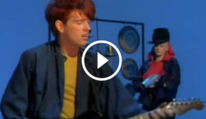 Thompson Twins - 'Hold Me Now' Official Music Video