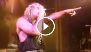 White Lion Performing 'Wait' Live at the Ritz 1988