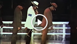 Michael Jackson Performing 'Smooth Criminal' Live in Wembley Stadium in 1988