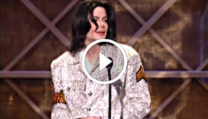 Michael Jackson Wins The Century Award at the 2002 American Music Awards