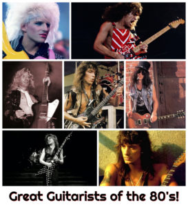 Great Guitarists of the '80s!