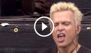 Billy Idol Performing Van Halen's 'Jump' Live at MTV's Rock Am Ring in 2005