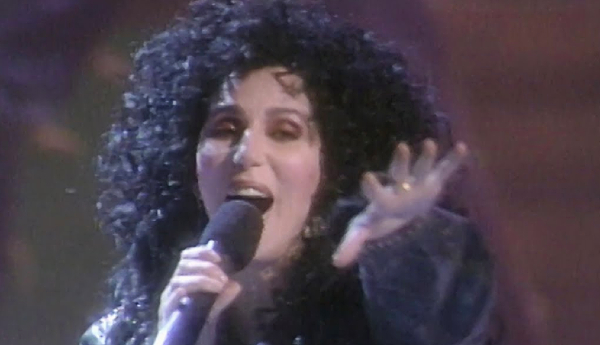 Cher performing If I Could Turn Back Time live at the 1989 VMA's