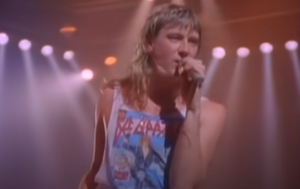 Def Leppard - 'Armageddon It' Music Video from 1988