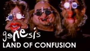 Genesis - 'Land of Confusion' Music Video from 1986