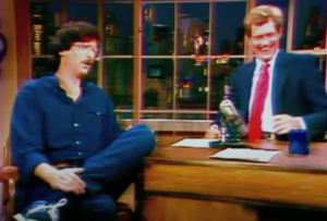 Howard Stern First Appearance on Late Night with David Letterman in 1984